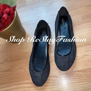 ⭐️ Calvin Klein Black Studded Ballerina Flats⭐️(9)